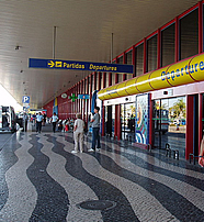 Faro Airport outside view